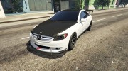 2010 Mercedes-Benz CL65 AMG for GTA 5 miniature 3