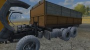 КамАЗ 55102 v 2.0 для Farming Simulator 2013 миниатюра 10