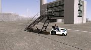GTA V HVY Airtug (Low big stairs) (Tugstair) for GTA San Andreas miniature 3