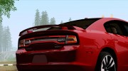 Dodge Charger SRT8 2012 Stock Version для GTA San Andreas миниатюра 4
