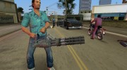Mini-Gun from Saints Row 2 для GTA Vice City миниатюра 3