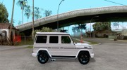 Mercedes-Benz G55 AMG (W463) 2008 for GTA San Andreas miniature 5