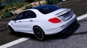 Mercedes-Benz E63 AMG for GTA 5 miniature 3