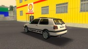 Volkswagen Golf 3 ABT VR6 Turbo Syncro for GTA 3 miniature 4