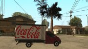 Renault Trafic Mk2 Coca Cola for GTA San Andreas miniature 4