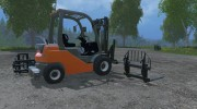 Toyota Forklift for Farming Simulator 2015 miniature 5