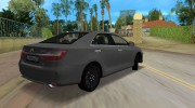 Toyota Camry 2016 for GTA Vice City miniature 3