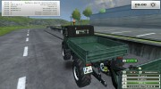 Unimog U 84 406 Series и Trailer v 1.1 Forest for Farming Simulator 2013 miniature 5
