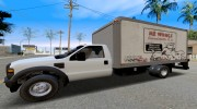 2008 Ford F-550 Box Truck for GTA San Andreas miniature 2