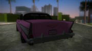 Chevrolet Bel Air 1957 for GTA Vice City miniature 3