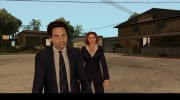 Dana Scully (The X-Files) для GTA San Andreas миниатюра 11