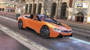2019 BMW i8 Roadster for GTA 5 miniature 1