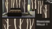 Branches Walls Set for Sims 4 miniature 3