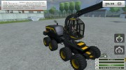 Ponsse Scorpion v 0.9 для Farming Simulator 2013 миниатюра 8