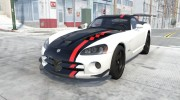 Dodge Viper SRT10 ACR 2010 for BeamNG.Drive miniature 1