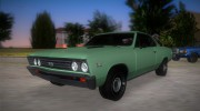 Chevrolet Chevelle SS 196 for GTA Vice City miniature 1