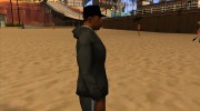 Кепка boss black for GTA San Andreas miniature 4