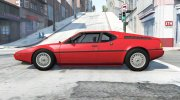 BMW M1 (E26) 1978 for BeamNG.Drive miniature 2