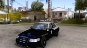 Ford Crown Victoria Florida Police for GTA San Andreas miniature 1