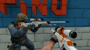 CS:GO AWP Asiimov for Counter-Strike Source miniature 2