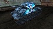Шкурка для M4A3E8 Sherman TouHou for World Of Tanks miniature 1