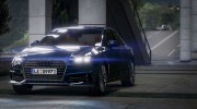Audi A4 2017 v1.1 for GTA 5 miniature 1