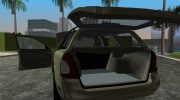 Daewoo Nubira I Kombi US 1999 for GTA Vice City miniature 8