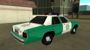 Ford LTD Crown Victoria 1991 San Diego County Sheriff for GTA San Andreas miniature 3