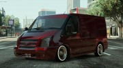 Ford Transit Low Rider BETA for GTA 5 miniature 1