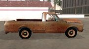 Chevrolet C-10 1972 Shit for GTA San Andreas miniature 6