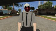 Payday 2 Wolf Reservoir Dogs (Fan Made) для GTA San Andreas миниатюра 1