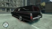 1978 Cadillac Fleetwood Hearse for GTA 4 miniature 4