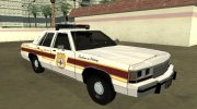 Ford LTD Crown Victoria 1991 New Castle County Police for GTA San Andreas miniature 2