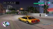 Taxi for GTA Vice City miniature 5