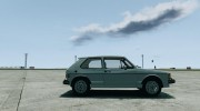Volkswagen Rabbit 1986 для GTA 4 миниатюра 5