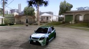 Ford Focus RS для GTA San Andreas миниатюра 1