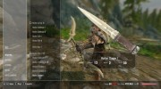 Ghosu - Horker Weapon Pack for TES V: Skyrim miniature 16