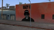 Eazy-E graffiti for GTA San Andreas miniature 4