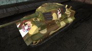Шкурка anime для E-75 for World Of Tanks miniature 1