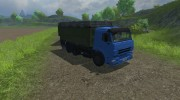 КамАЗ 420 Turbo для Farming Simulator 2013 миниатюра 2