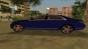 2015 Mercedes Benz S350 Bluetec for GTA Vice City miniature 3