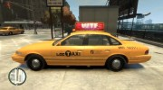 1995 Ford Crown Victoria LC Taxi for GTA 4 miniature 3