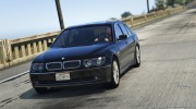 BMW 760i (e65) for GTA 5 miniature 1