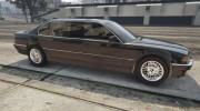 BMW L7 - 750IL E38 for GTA 5 miniature 7
