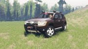 Dacia Duster for Spintires 2014 miniature 1