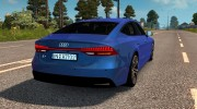 Audi A7 Sportback for Euro Truck Simulator 2 miniature 2