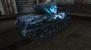 Шкурка для M4A3E8 Sherman TouHou for World Of Tanks miniature 4