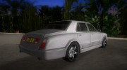 Bentley Arnage for GTA Vice City miniature 3