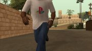 PlayStation T-Shirt for GTA San Andreas miniature 3