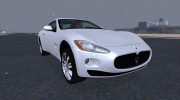 Maserati GranTurismo 2008 for GTA San Andreas miniature 1
